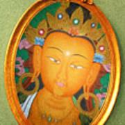 Buddha Mirror Art Print