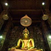 Buddha Sitting Art Print