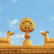 Buddha Symbol Art Print