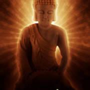 Buddhas Enlightenment Art Print