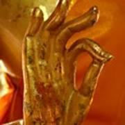 Buddhism Symbols Art Print