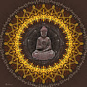 Buddhist Meditation Art Print