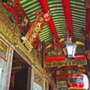 Nord Hoi Temple Ceiling Art Print