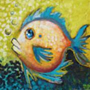 Buddy Fish Art Print