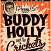 Buddy Holly Art Print
