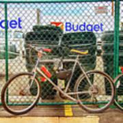 Budget Bicycle Art Print