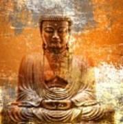 Budha Textures Art Print
