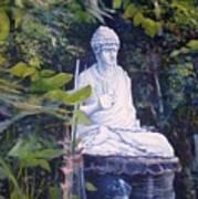 Budha Ubud Bali Indonesia 2008  Art Print