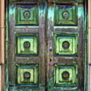 Buenos Aires Church Crypt Door Art Print
