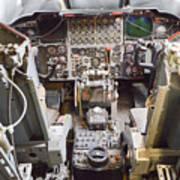 Buff Cockpit Art Print