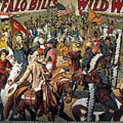 Buffalo Bill: Poster, 1908 Art Print
