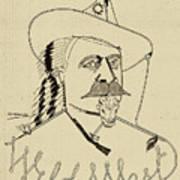 Buffalo Bill's Wild West - American History Art Print