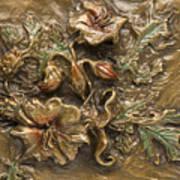 Buffalo Burr Flower Art Print