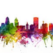 Buffalo Cityscape 06 Art Print