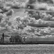 Buffalo Lighthouse 8111 Art Print