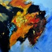 Buffalo-like Abstract  Art Print