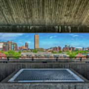 Buffalo New York Window Art Print