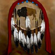 Buffalo Shield Art Print