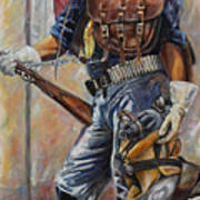Buffalo Soldier Outfitted Art Print by Harvie Brown