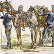 Buffalo Soldiers, 1886 Art Print