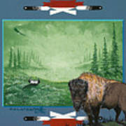 Buffalo Spirit Art Print