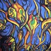 Buffalo Spirits Art Print by John Benko
