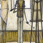 Buffet: Artist, 1948 Art Print