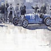 Bugatti 35c Monaco Gp 1930 Louis Chiron  Art Print