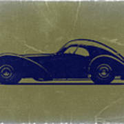 Bugatti 57 S Atlantic Print by Naxart Studio