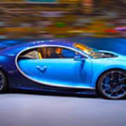 Bugatti Chiron 2 Art Print