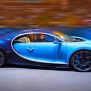 Bugatti Chiron 3 Art Print