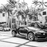 Bugatti Chiron 5 Art Print