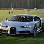 Bugatti Chiron Art Print