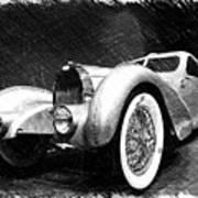 Bugatti Type 57 Aerolithe Art Print