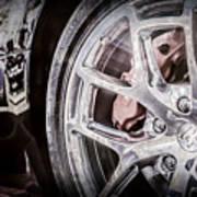 Bugatti Veyron Legend Wheel -0532ac Art Print