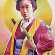 Bugeisha One Art Print