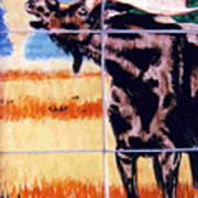 Bugling Moose Print by Dy Witt