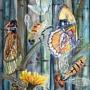 Bugs N Bamboo Art Print