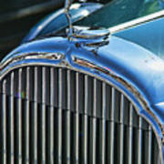 Buick Grill And Hood Ornament Art Print