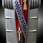 Buick Grill Emblem Art Print