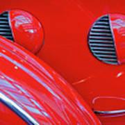 Buick Lasalle Portholes And Fender #3 Art Print