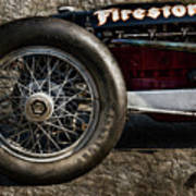 Buick Shafer 8 Art Print by Peter Chilelli