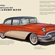 Buick Super Art Print