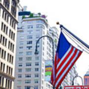 Building Closeup In Manhattan 9 Art Print