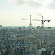 Building Paris Art Print