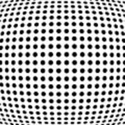 Bulge Dots Art Print