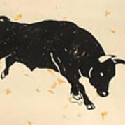Bull 1 Art Print