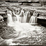 Bull Creek Water Run Print by Lisa  Spencer