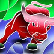 Bull Market Print by Stephen Younts