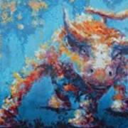Bull Market X Art Print